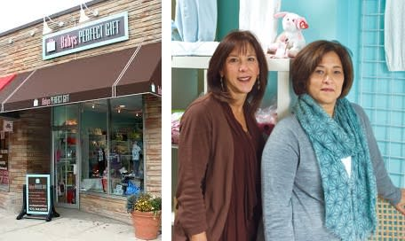 Ilene and Marcia at Baby's Perfect Gift give Montclair mothers a welcoming place to shop for children