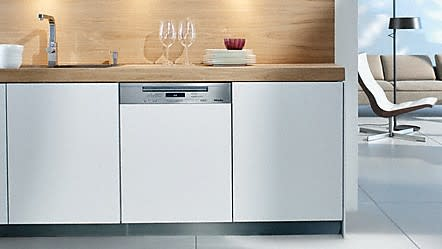 What is an integrated dishwasher?