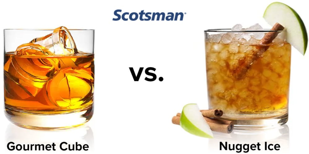 Looking for the Best Scotsman Ice Machine? Nugget vs. Cube Ice Showdown