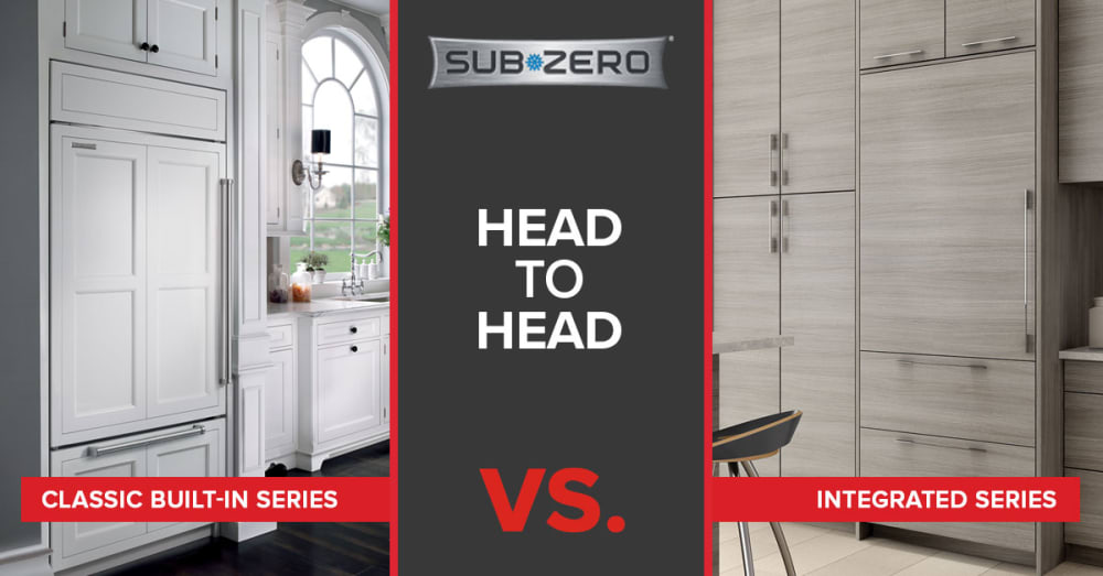 Sub-Zero Refrigerator - Classic Built-In vs. Integrated [REVIEW]