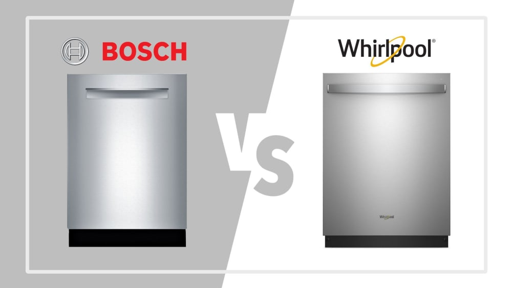 Bosch vs. Whirlpool Dishwashers: How do they stack up?