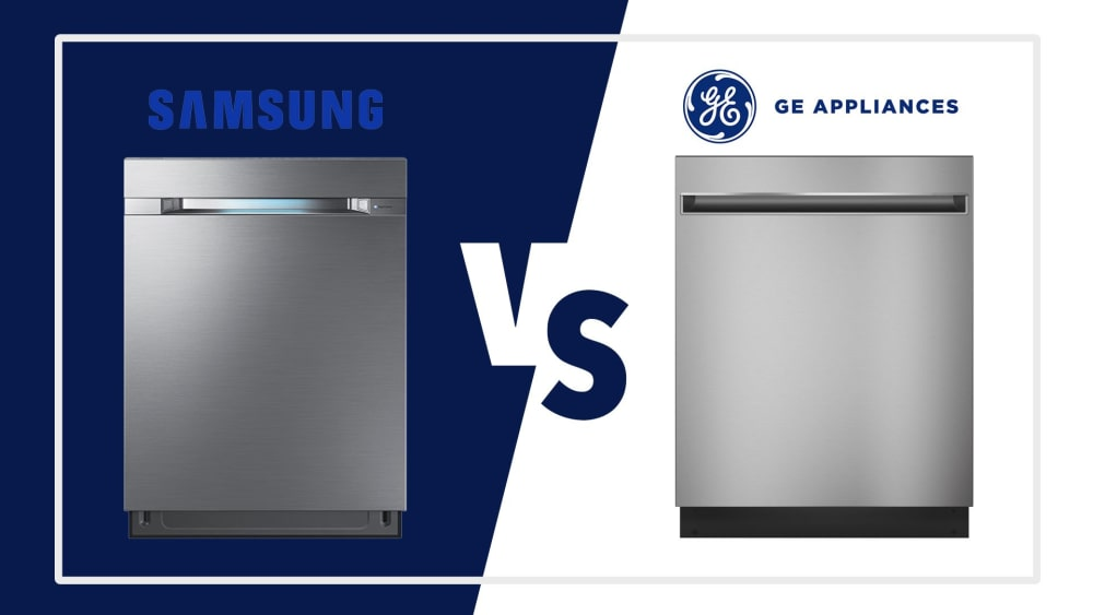 Samsung vs GE Dishwashers - Best Brands in Style and Technology