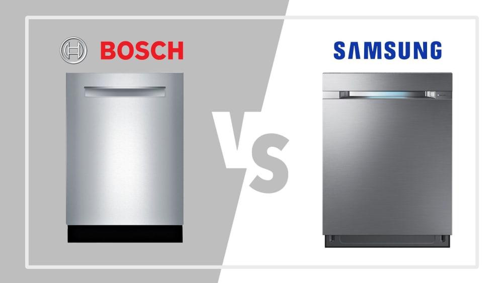 Bosch vs. Samsung Dishwashers