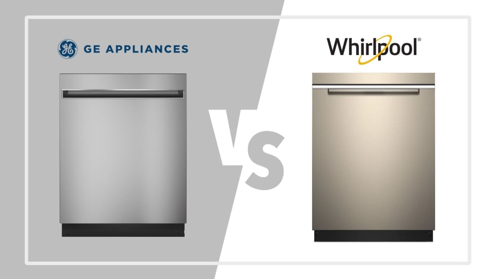 GE vs Whirlpool Dishwashers - What to Consider When Purchasing a New Dishwasher
