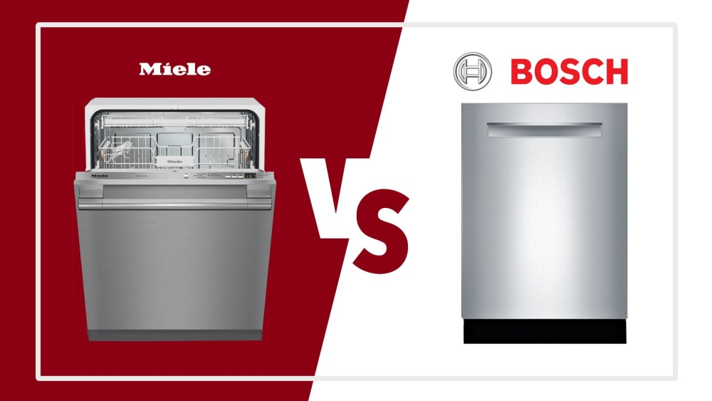 Bosch vs  Miele: Comparing the Two Best Manufacturers of