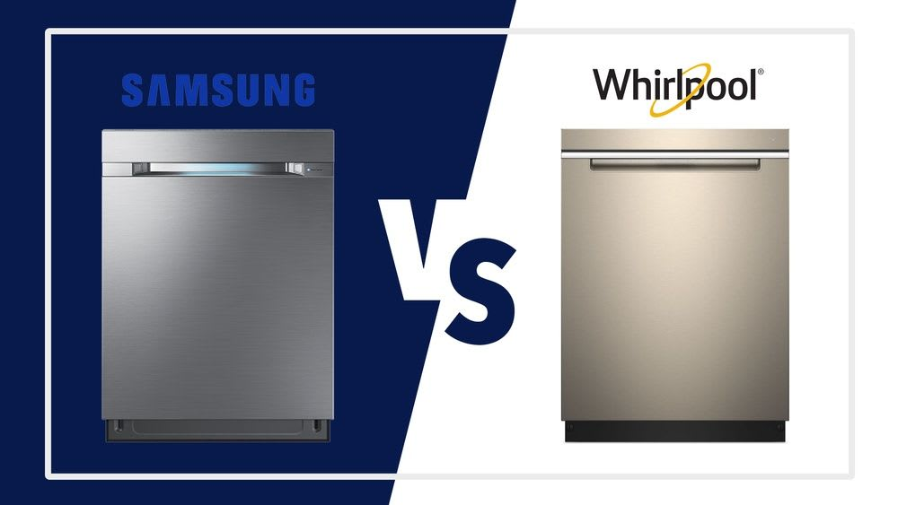 Samsung vs. Whirlpool Dishwashers - Best Quality and Value for the Money