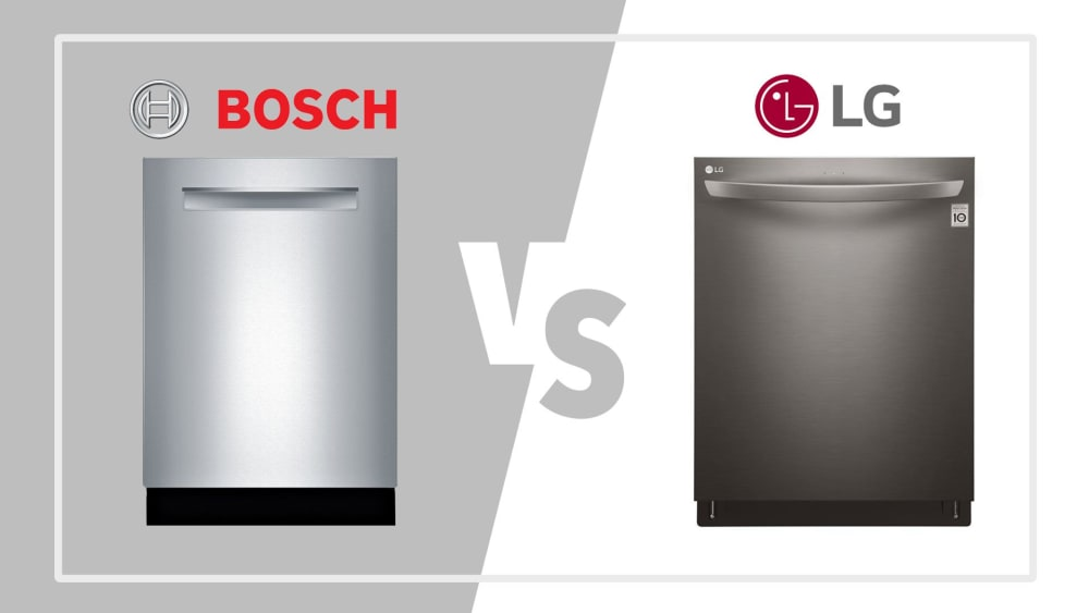 Bosch vs LG Dishwashers - Quiet and Reliable Models in 2020 [REVIEW]