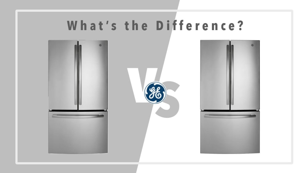 GE French Door Refrigerator GNE27JSMSS vs. GNE27ESMSS