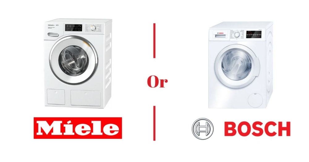Bosch vs. Miele Compact Washer and Dryer Comparison [REVIEW]