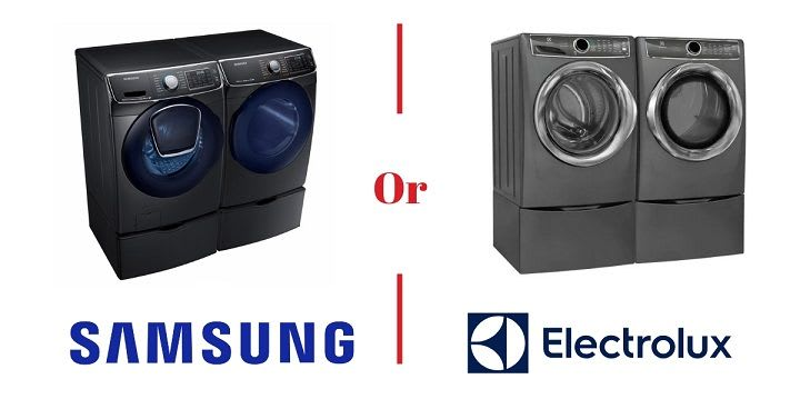 Samsung vs Electrolux Washer and Dryer (2020 Review): Best in Cleaning & Smart Wifi