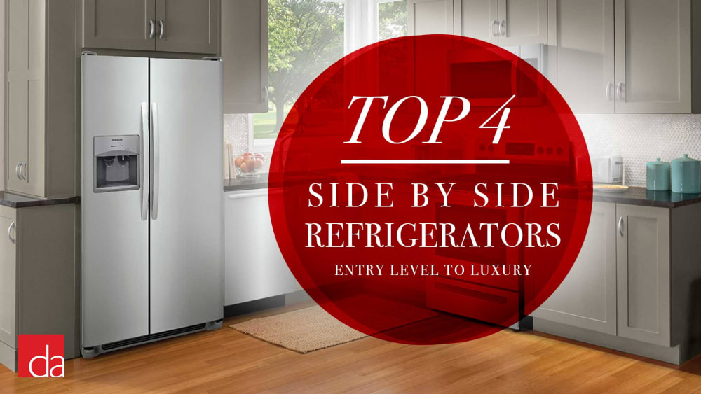 Best Side by Side Refrigerators of 2020 - Our Top 4 Picks