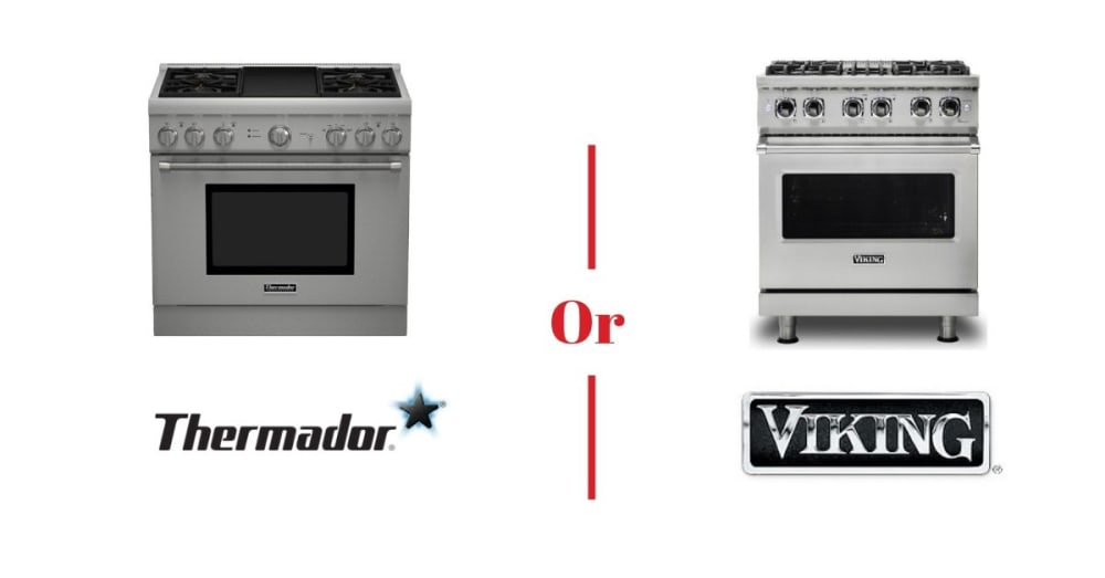 Thermador vs. Viking Ranges - Best High-End Stoves Compared [REVIEW]