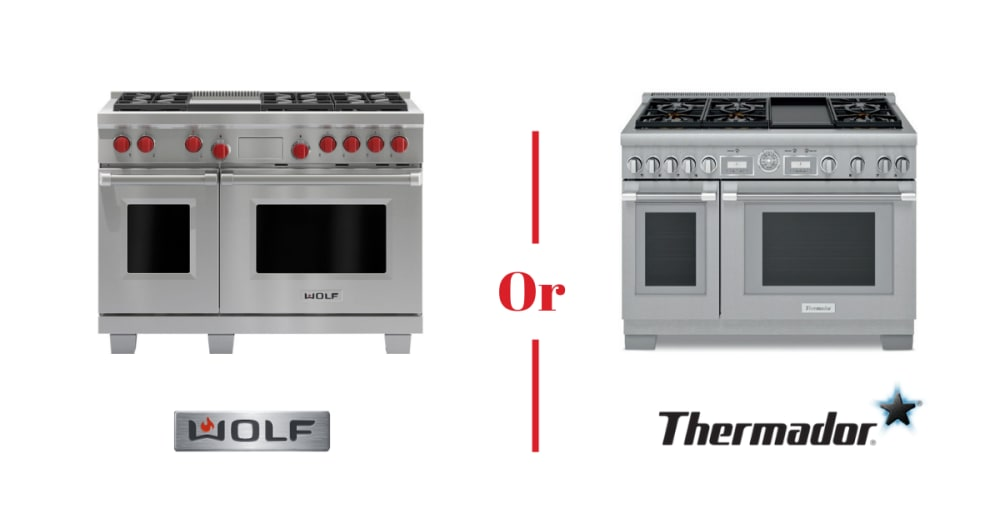 Wolf vs Thermador Range - What You Need to Know Before Buying [REVIEW]