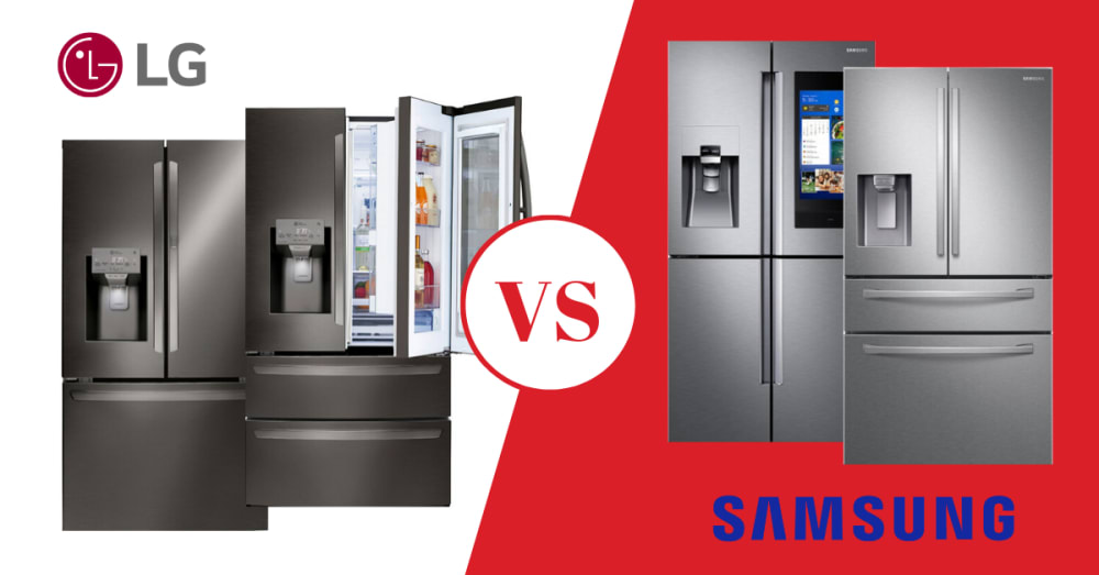 LG vs Samsung Refrigerators Review (2020) - Best Models & More