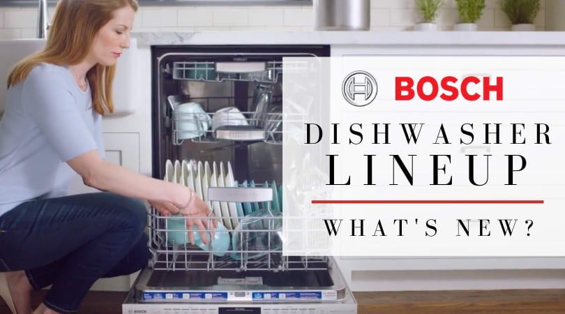 What's New in Bosch Dishwashers?