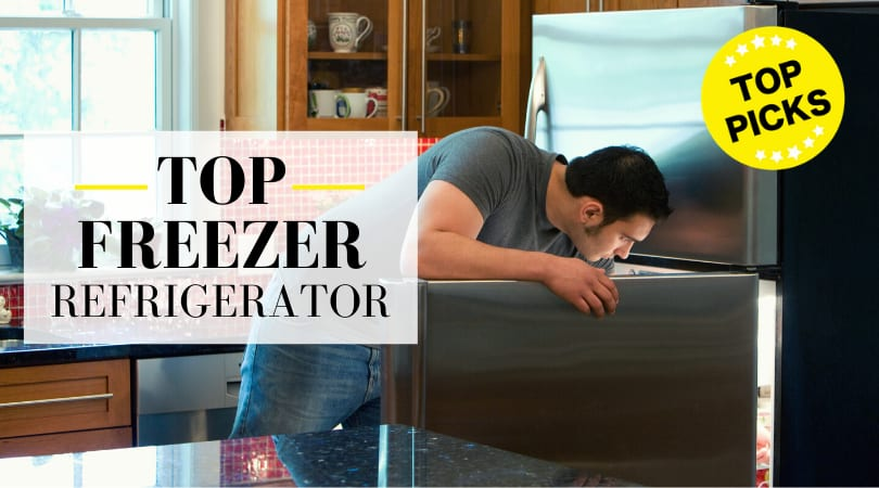 Best Top Freezer Refrigerator (2020 Review): For Your Kitchen or Garage