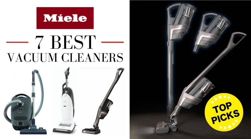 7 Best Miele Vacuum Cleaners Review [2020]