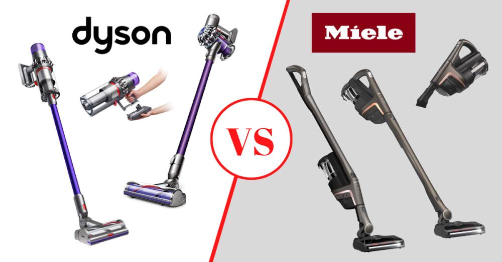 Miele vs Dyson Cordless Vacuum Comparison