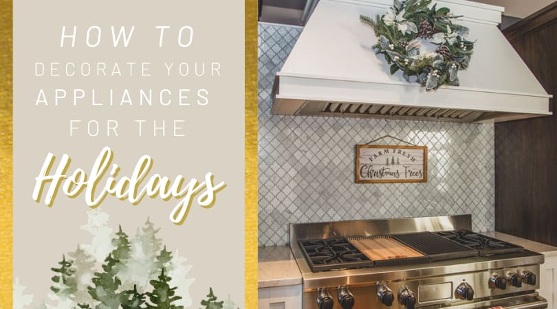 Spread Some Holiday Cheer by Decorating Your Appliances
