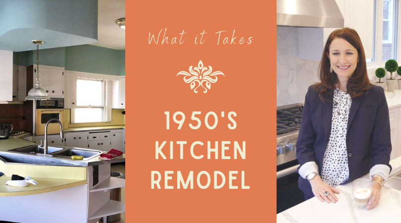 What it Takes to Transform a Dated 1950s Kitchen