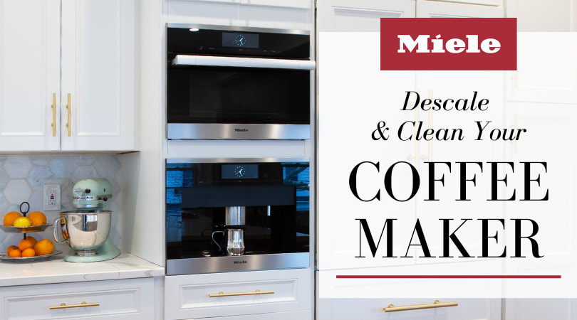 Descale & Clean Your Miele Coffee Machine w/These Products