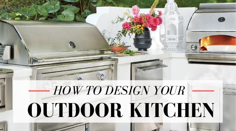 3 Essential Outdoor Kitchen Design Ideas
