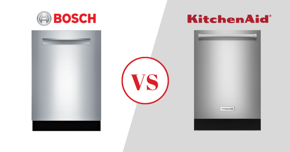Bosch Vs Kitchenaid Dishwashers In 2021 How Well Do They Stack Up Review