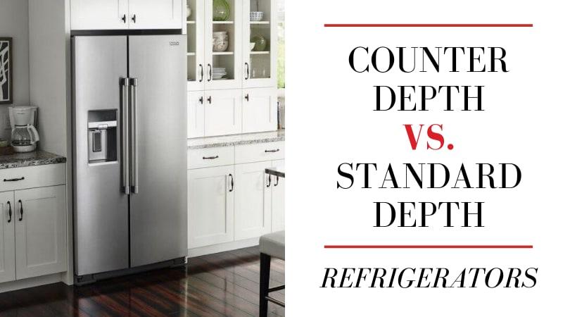 Counter Depth Vs Standard Depth Refrigerators