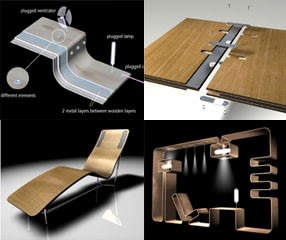 electrified wood by designers dome