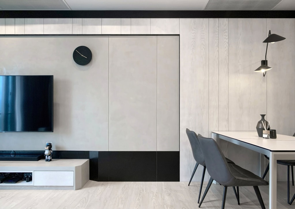 Achromatic the new Contemporary