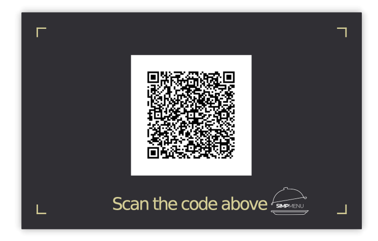 QR Code Card Example