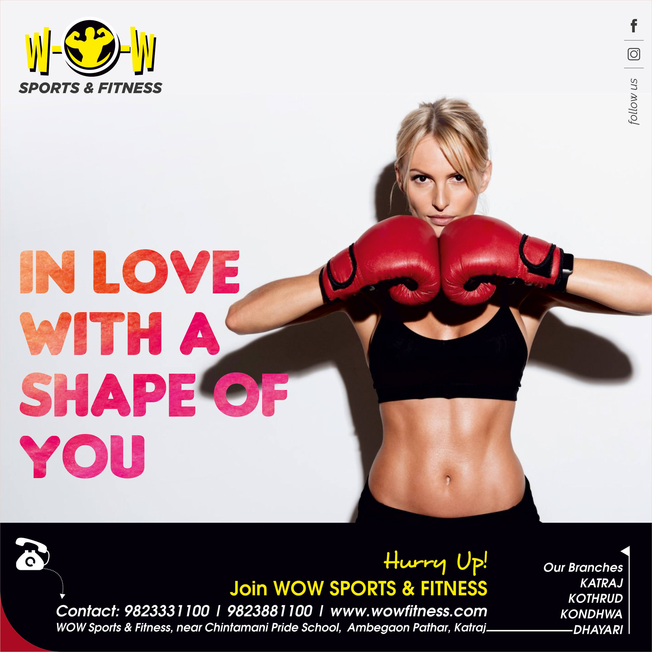 Gym promotional Creatives
