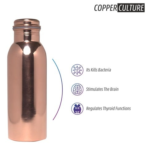 Copper Bottle Product Designing for E-Commerce