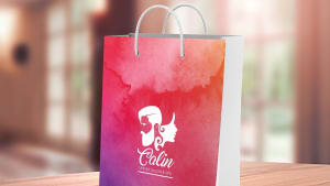 Unisex Salon & Spa Bag Designing for Calin Salon, Wagholi, Pune