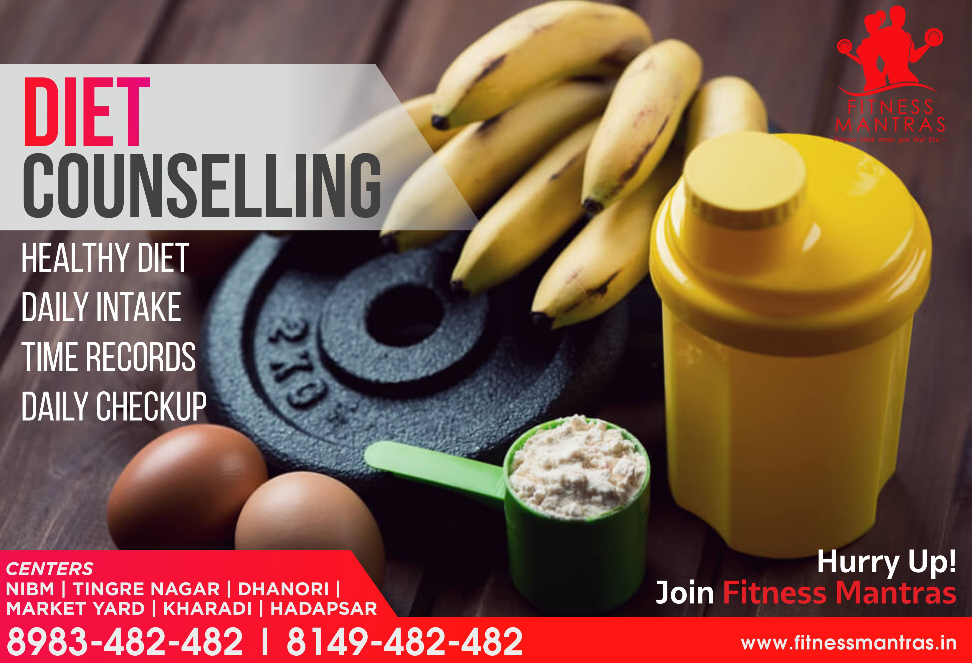 Fitness Club Designing & Social Media Marketing
