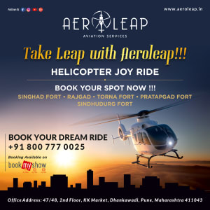 Aeroleap Aviation Services – Helicopter (Social Media Creatives)