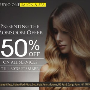 Read more about the article SOCIAL MEDIA MARKETING CREATIVES FOR STUDIO ONE SALON AND SPA PUNE