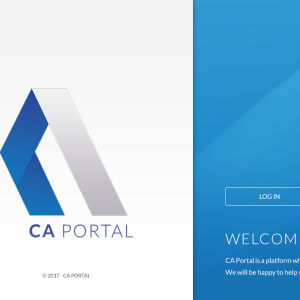 Read more about the article UI UX Designing for CA Portal software