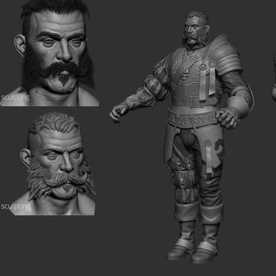 Imperial Soldier - Zbrush