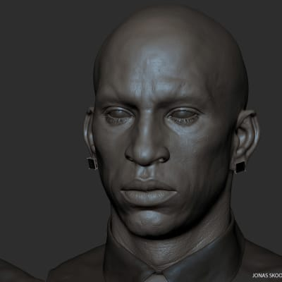 African Male - Zbrush Screen