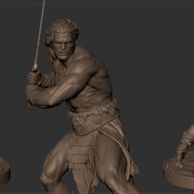 Conan - 3D Print