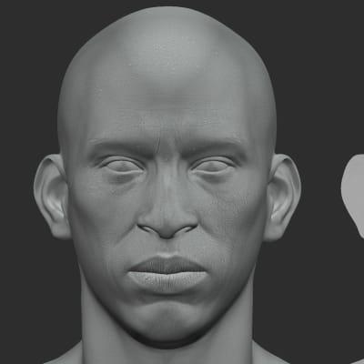 African Male - Mari01