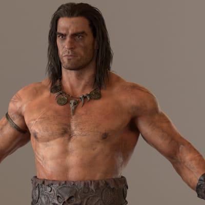 Conan - Vray render