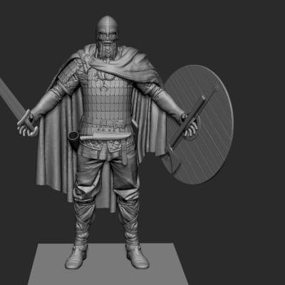 War of the Vikings - Zbrush Screen
