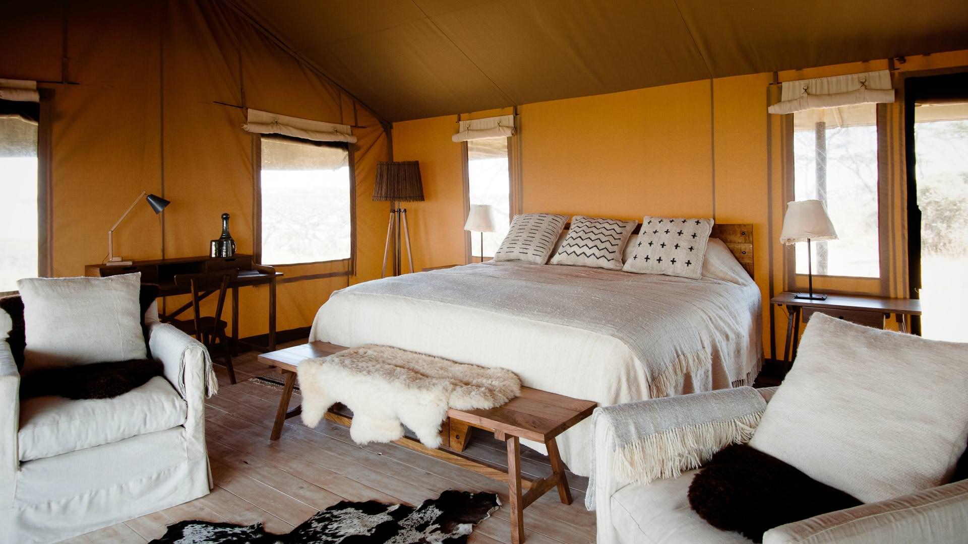 Double tent setup