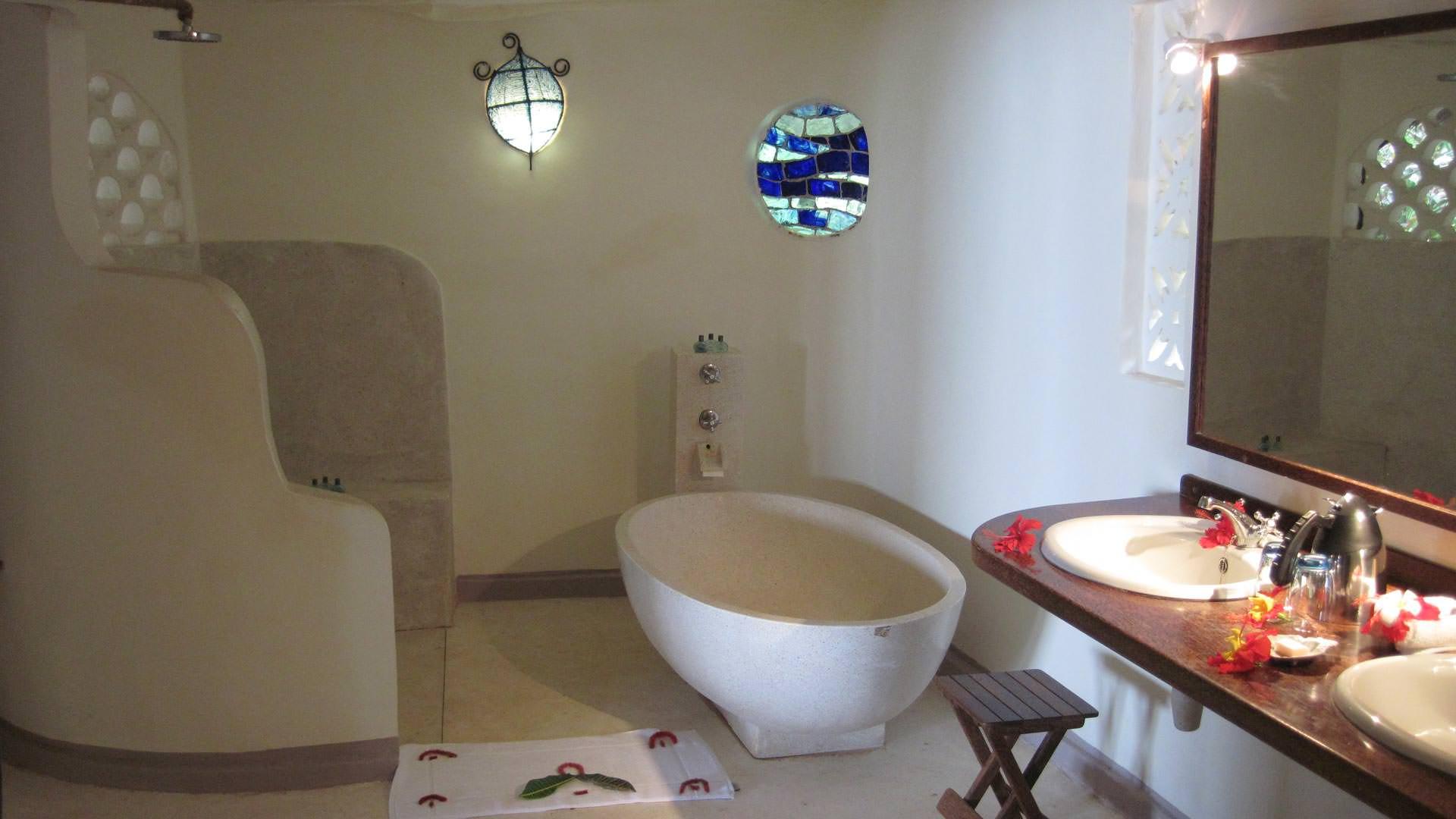 Matemwe bathroom