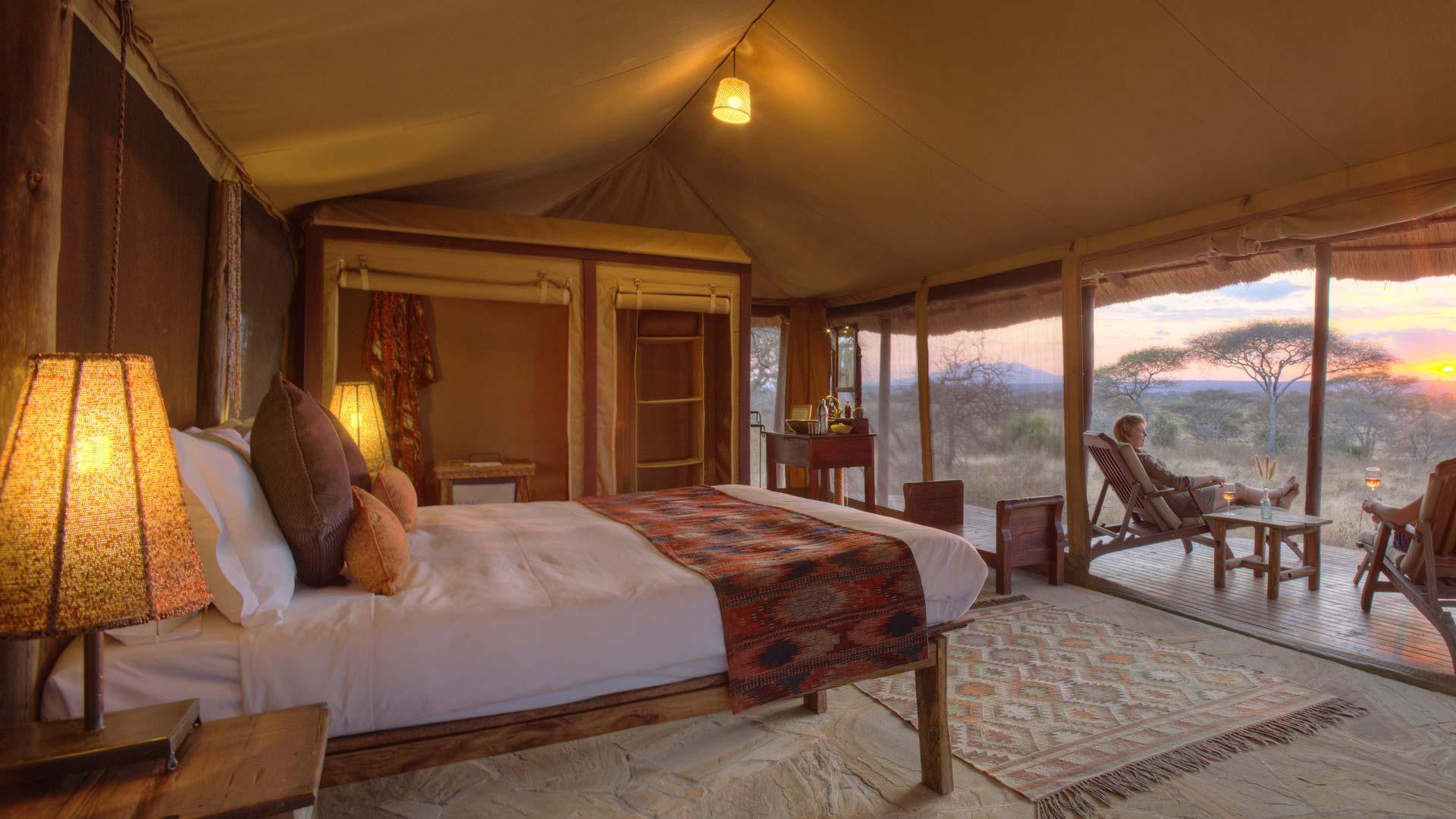 Guest Tent Interior