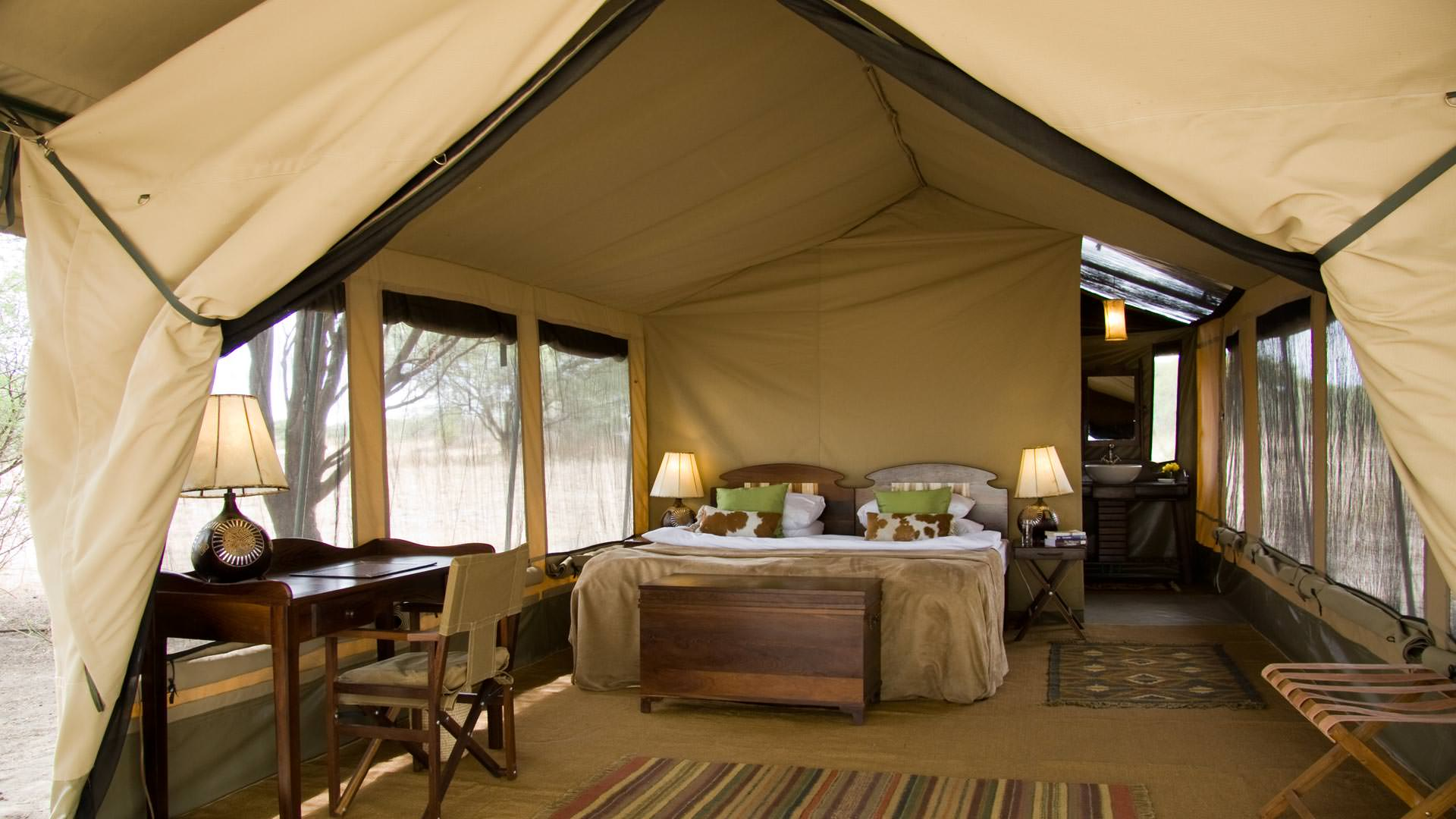 Guest Tent at Manyara Ranch Conservancy
