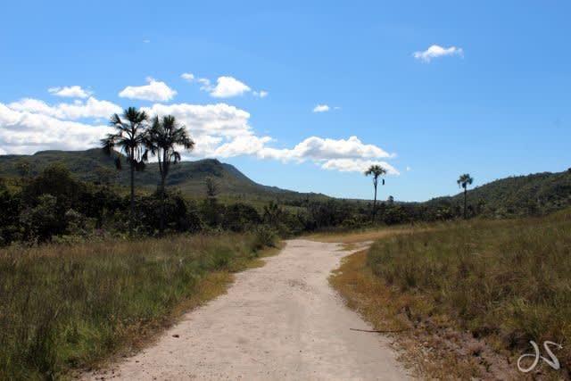 caminho para cachoeira de santa bárbara