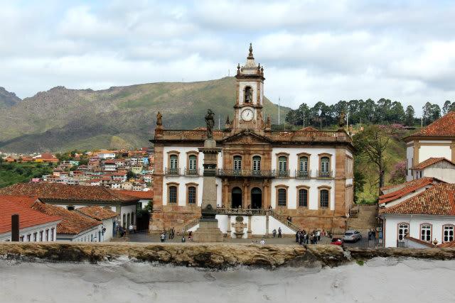 Museu da Inconfidência, em Ouro Preto - Minas Gerais